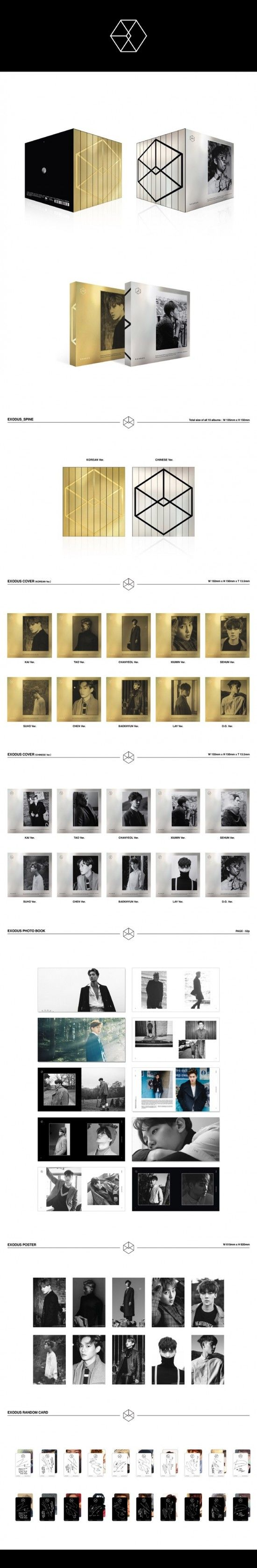 Details and tracklist for EXO's 2nd album 'EXODUS' revealed | allkpop.com
