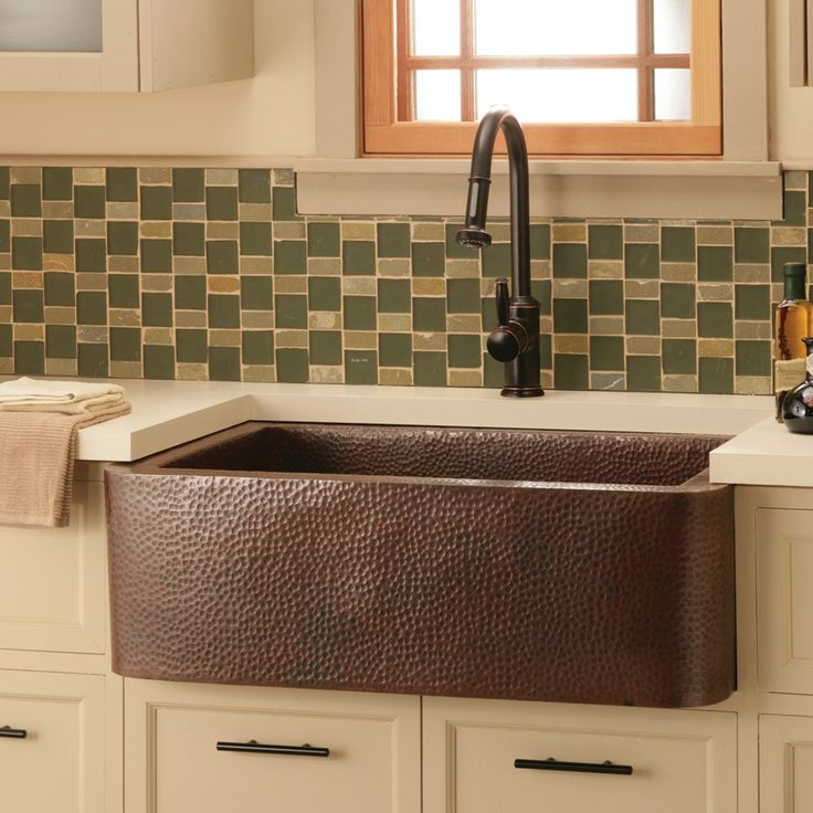 16 Best Images About Copper Hand Hammered Farm House Sinks On Pinterest