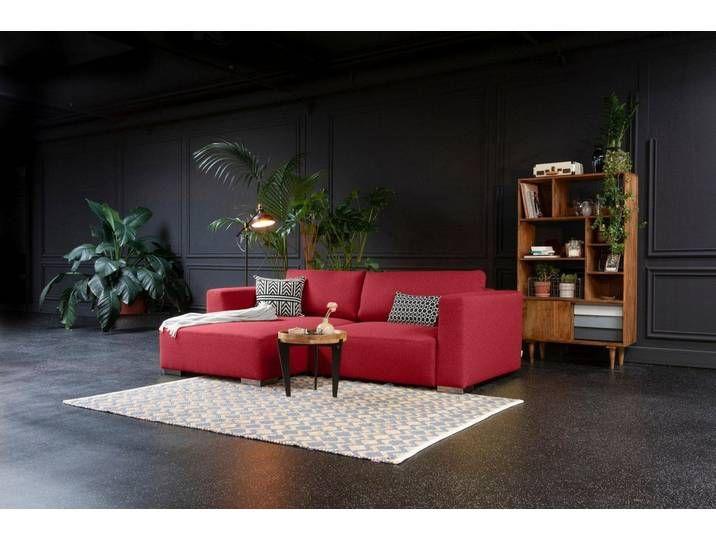 Tom Tailor Eck Sofa Rot 242cm Recamiere Links Heaven Style S In 2020 Haus Deko Wohnen Sofa