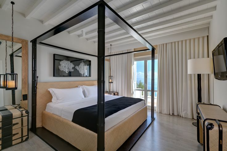 Deluxe Seaview Suite Bedroom | Santa Marina, A Luxury Collection Resort, Mykonos