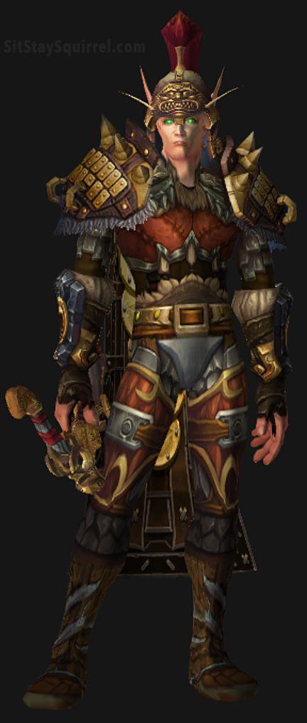 Male Blood Elf Hunter Transmog