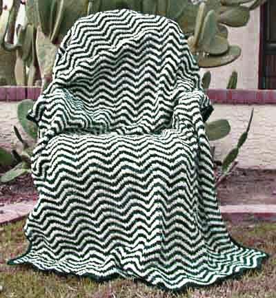 Knitting Pattern For Ripple Afghan : Ripple Afghan Knitting Pattern crochet + knit Pinterest