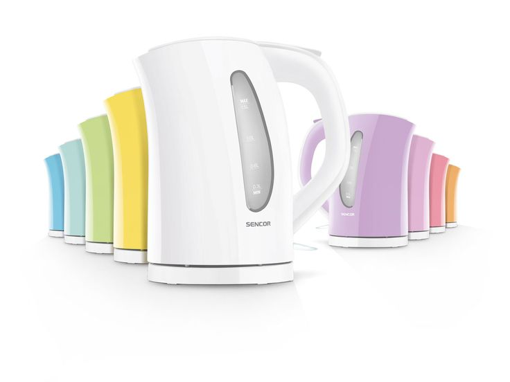 PASTELS WATTER KETTLE   Pick your favorite color  Lightning fast, but with an extra-fine replaceable filter. It really brings things to a boil. Click on the kettle color you like best, and the appliance will appear in all its beauty.