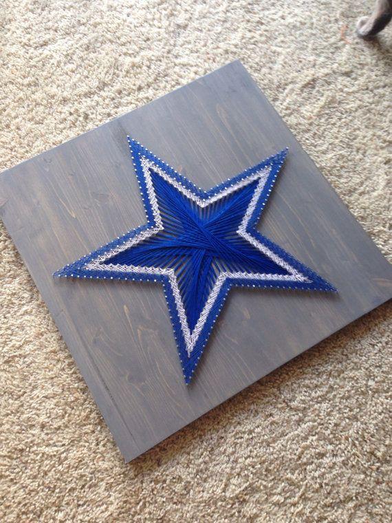 String Art Sports Logo Dallas Cowboys FREE by ThingsStringed