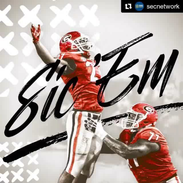 "57 Likes, 1 Comments - Georgia Football News (@ugafootballnews) on Instagram: ""#Repost @secnetwork (@get_repost) ・・・ GO DAWGS! @georgiafootball dominates Florida in…"""