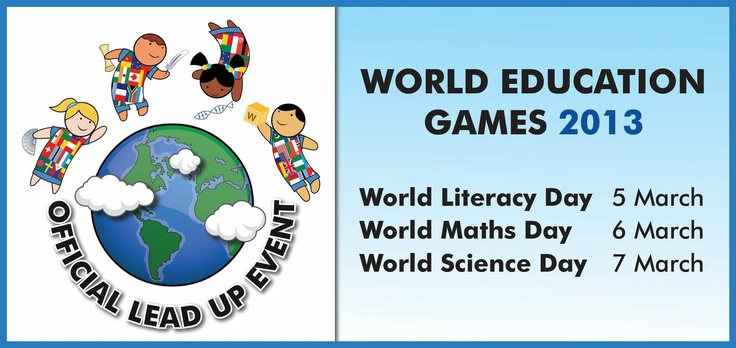 The World Education Games is a world wide event, where students from around the world compete with each other in a World Maths, Literacy and Science days. Each of the different learning strands uses well known resources such as Mathletics, Spellodrome and IntoScience to power each area. Registered students can practice their skills for free leading up to the event. The competition is also free. There are prizes available as well. Unicef have teamed up with the World Education Games to…