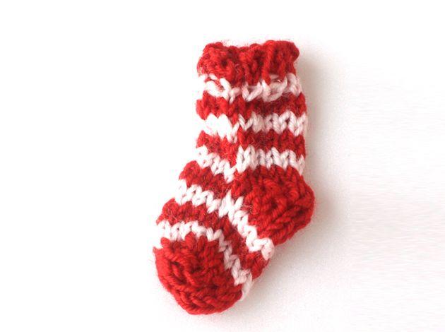 handmade.sock,unique brooch,pin brooch,santa claus from violetcloset by DaWanda.com