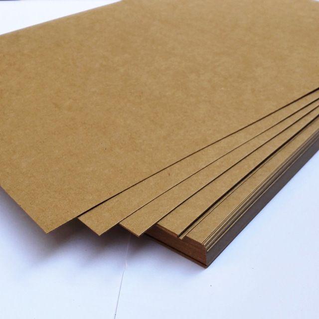 Liberi la nave 100 pz/lotto A4 21x29.7 cm Kraft/carta Nera carta 80/100/120/180gsm regalo imballaggio di cartone carta busta di invito