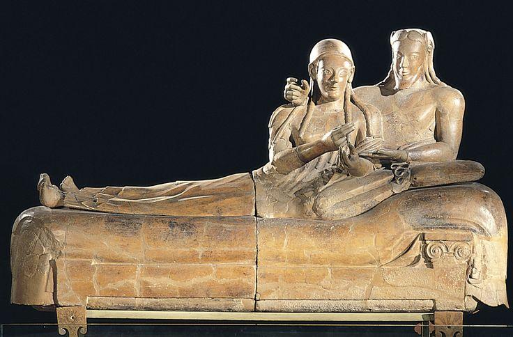 Sarcophagus of the couple, Cerveteri, c.550-25 B.C.