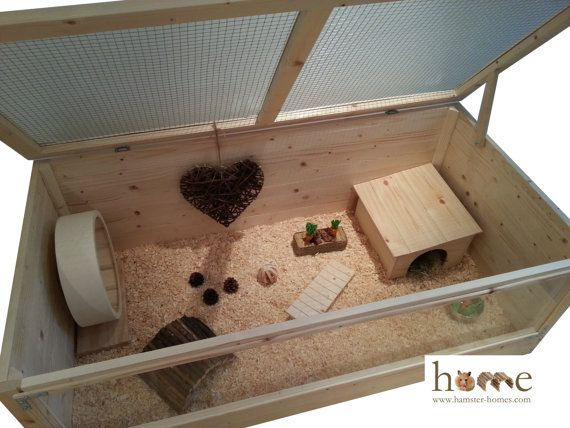 Super Large 120cm Pygmy Hedgehog Cage & Small by HamsterHomesUK