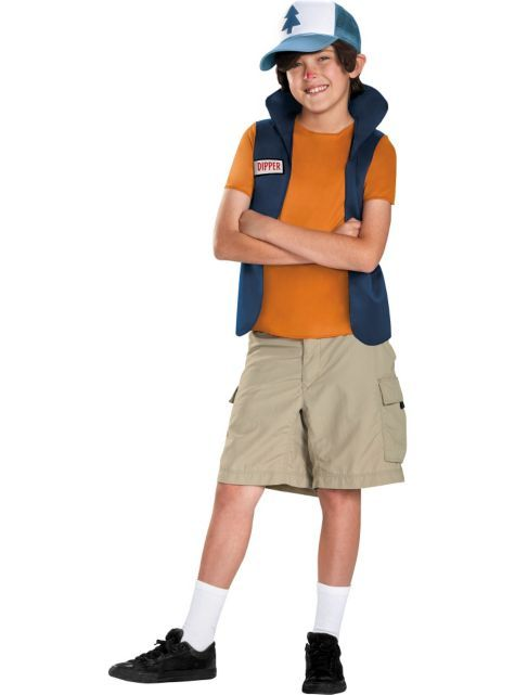 Boys Dipper Pines Costume - Gravity Falls - Party City