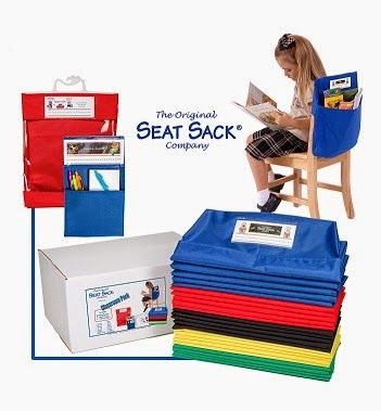 The Adventures of Miss Elisabeth: Classroom Management {Seat Sack Style} and a BIG, BIG Giveaway!! 25 Seat Sack giveaway!