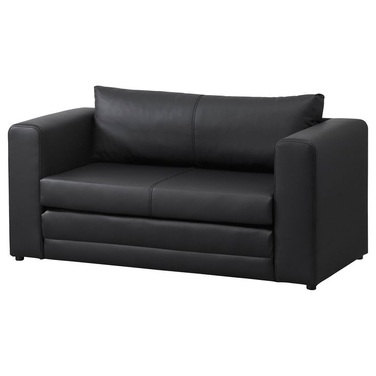 ASKEBY Two-seat Sofa-bed Black