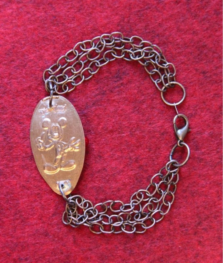 Learn how to make your own disney pressed penny bracelet for Create your own penny