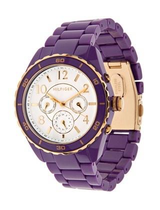 Purple and Gold Tommy Hilfiger Watch... JMU style :)
