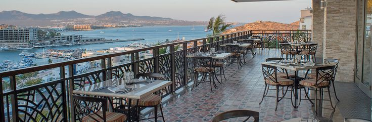 A La Carte Restaurante Sandos Finisterra Los Cabos, Terraza Don Diego