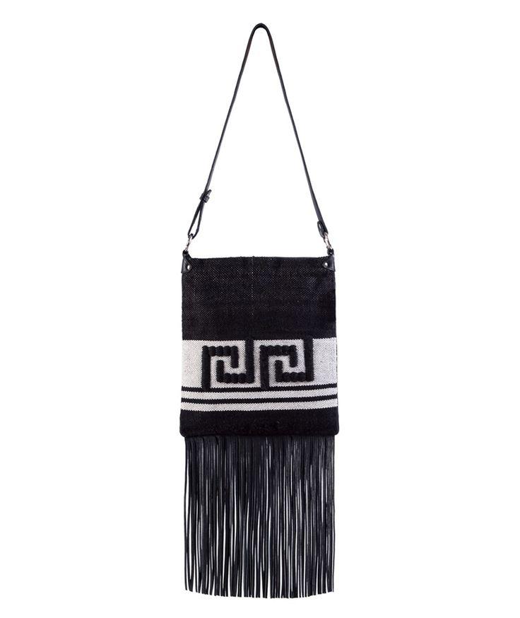 Tagari Black Thetis Messenger Bag