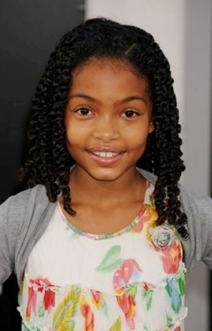 Black Girls Hairstyles For Kids Photos