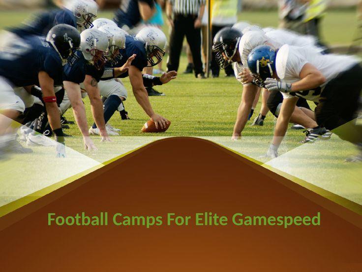 Pin By Joe Pacifico Elite Gamespeed On Football Football Camp