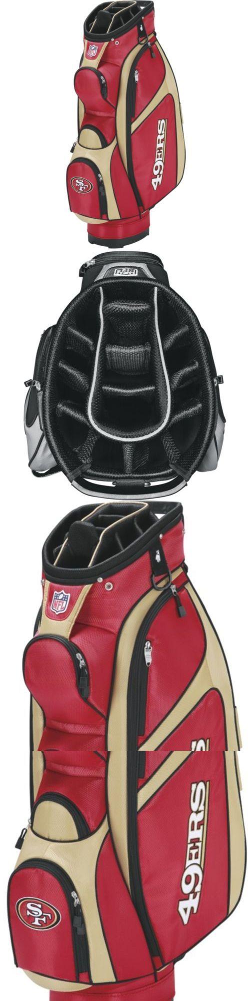Golf Club Bags 30109: Wilson Nfl San Francisco 49Ers Cart Golf Bag, Scarlet Gold -> BUY IT NOW ONLY: $137.16 on eBay!