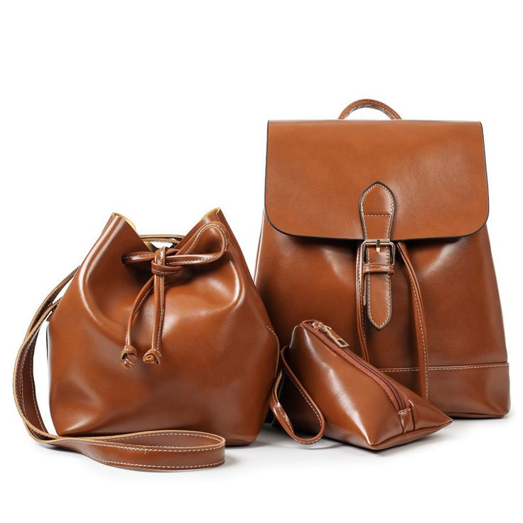 3Pcs Set Drawstring Bag
