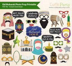 Eid Mubarak Photo Booth Prop Eid Photo Booth Prop by Cutieparty
