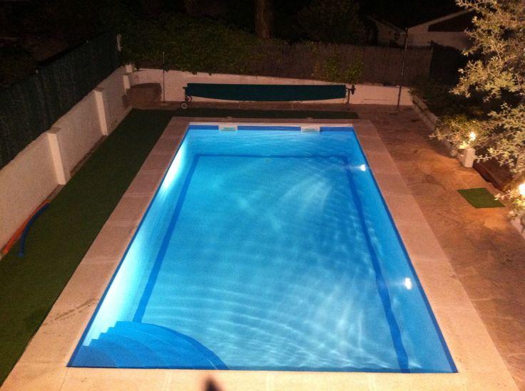 Reforma de piscinas iguaz revestimiento con l mina - Focos de piscinas ...