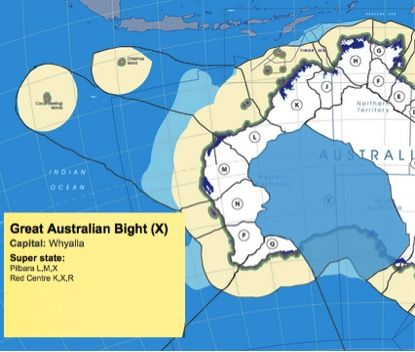I'm all for a new state in the Northern Territory... or two ...or more | Blogger Me