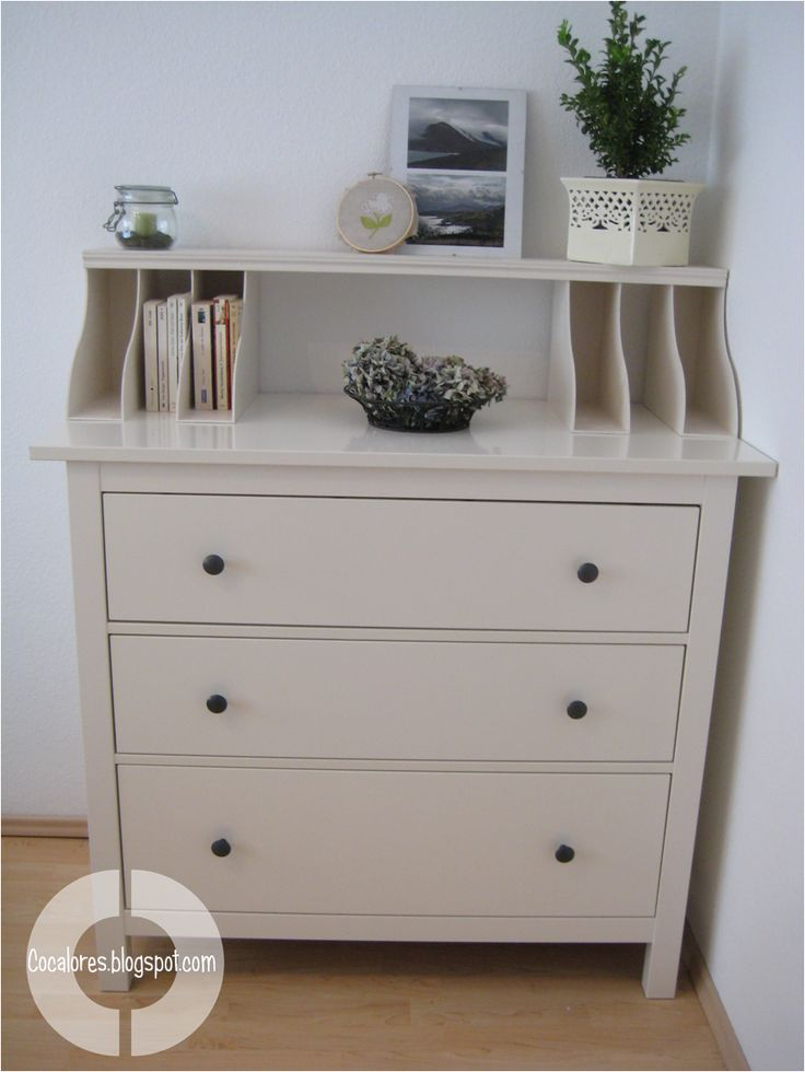 how to turn a dresser into computer storage | How To Turn A Boring Dresser Into A Cute Secretary - Tutorial
