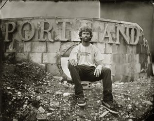 Éric Antoine // Ambrotypes // Port Land