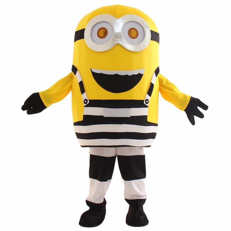Minions minion mascot costume cartoon character mascot animal costume mascot fancy dress costumes free shipping