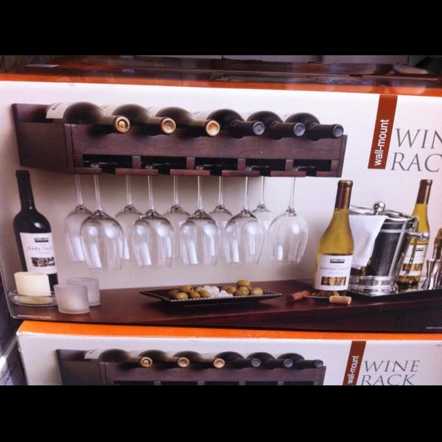 Wall Mount Wine Rack Costco 30 My Future Home