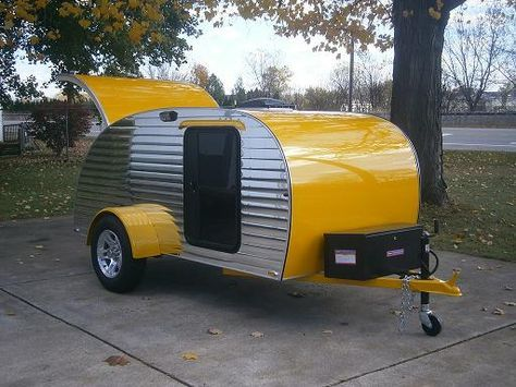 Cool teardrop trailers and kits to build your own