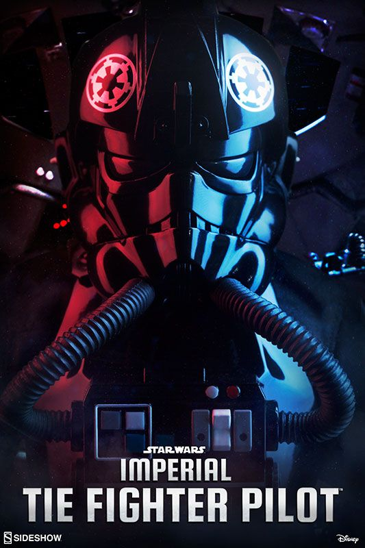 Star Wars Imperial TIE Fighter Pilot Sixth Scale Figure by S | Sideshow Collectibles