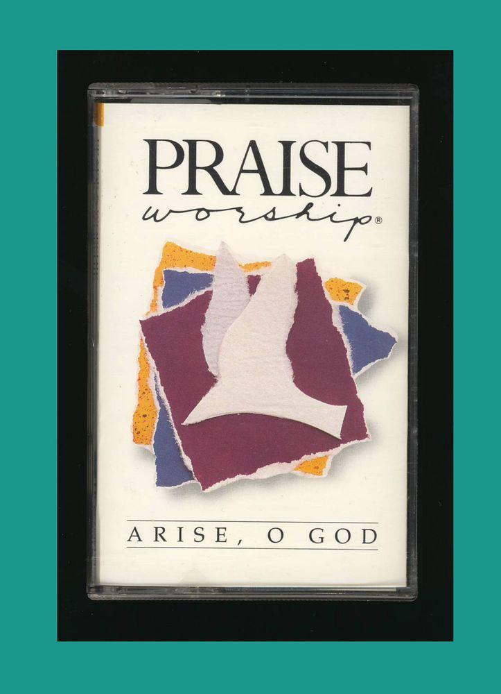 Hosanna Music Praise & Worship - Arise, O God (1990 Cassette Tape) OOP CCM #Christian