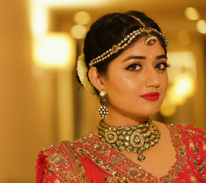 Traditional Wedding Makeup Tutorial : DIY Indian Wedding Makeup Tutorial - Red and Gold ...