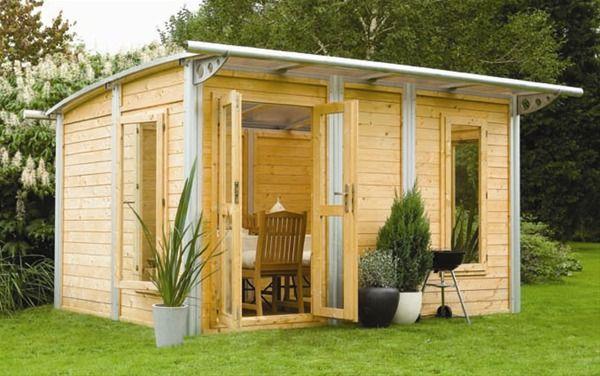 Garden office, guest house