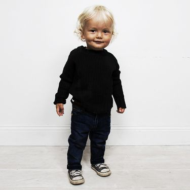 Perfect little black outfitBaby Blue, Bristol Baby, Kids Fashion, Blue Jeans, Black Outfit, Kiddos Clothing, Kids Clothing, Little Boys, Black Baby Boys Fashion
