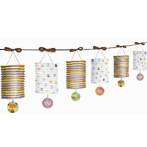 Fisher Price Baby Paper Lantern Garland