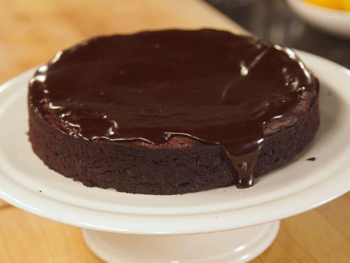 Chocolate Cassis Cake Flourless CakesIna Garten