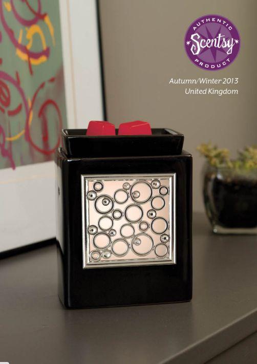 Cube Ebony and bling frames
