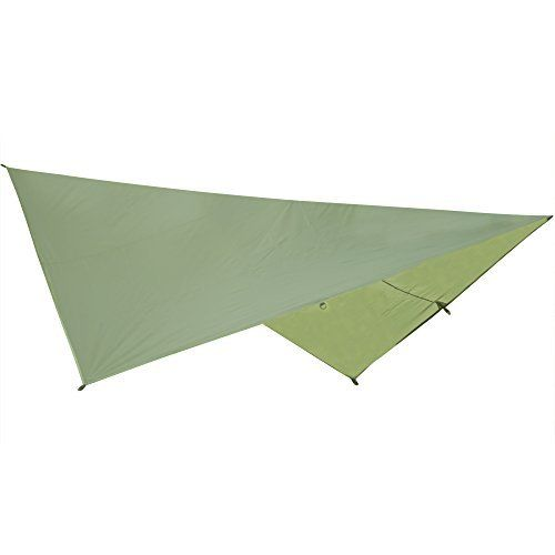 Eclypse II Rainfly- Waterproof Tarp Tent, Hammock Rain Tarp - Instant Shelter For Camping - Light And Strong -8 D Rings - Self Lock Lines - 14 Foot Guideline By Tiny Big Adventure