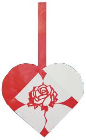 PapirKlip Heart Rose