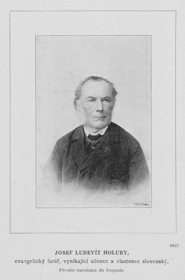 Jozef Ľudovít Holuby (25. marca 1836 Lubina – 15. júna 1923 v Pezinku) bol slovenský vedec, botanik, polyhistor, národopisec, evanjelický kňaz, historik, archeológ, spisovateľ, etnograf, národný buditeľ. Za celoživotné dielo bol vyznamenaný členstvom v Českej akademii věd a umění. Na jeho počesť udeľuje Slovenská botanická spoločnosť pri Slovenskej akadémií vied od roku 1984 vynikajúcim botanikom pamätnú Holubyho medailu.