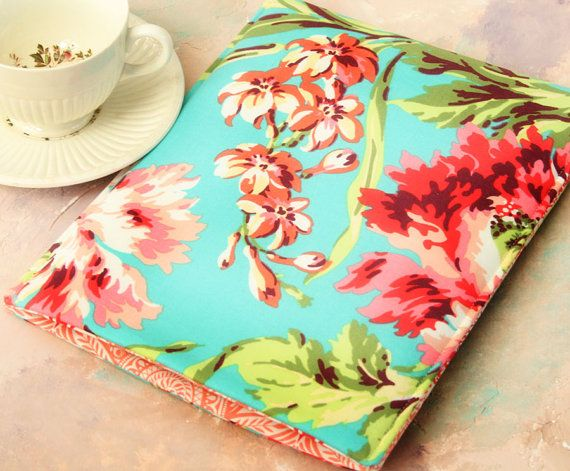 Kindle Sleeve, Kindle case, Nook Sleeve, Nook Case in Hawaiian Flowers - Gadget Cases and Covers on Etsy, $16.25 AUD