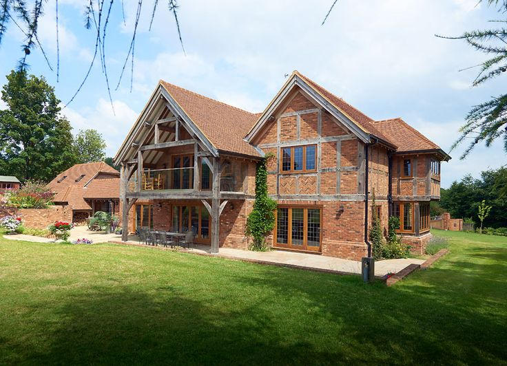 17 best images about tudor home on pinterest front for Oak framed house designs