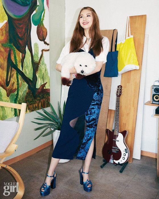 Kim Jinkyung for Vogue Girl Korea 2015