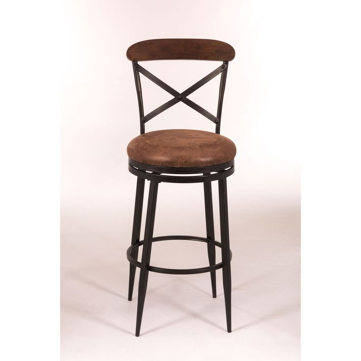 Henderson Black Swivel Bar Stool Hillsdale Furniture Bar Height To Inch Bar