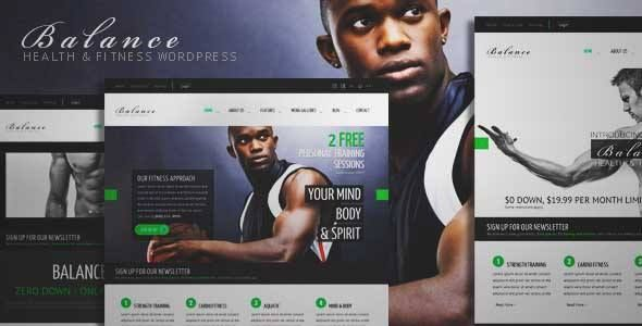 Download and review of Balance - Gym Fitness WordPress HTML 5 Theme, one of the best Themeforest Corporative themes