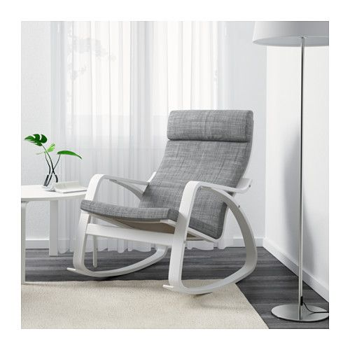 IKEA POÄNG rocking-chair The cover is easy to keep clean as it is removable and can be dry cleaned.